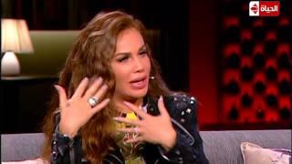 نيكول سابا: 'عندي فوبيا من الأسانسير..وطلعت على رجلي 15 دور'.. فيديو