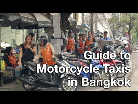 Guide to Motorcycle Taxis in Bangkok