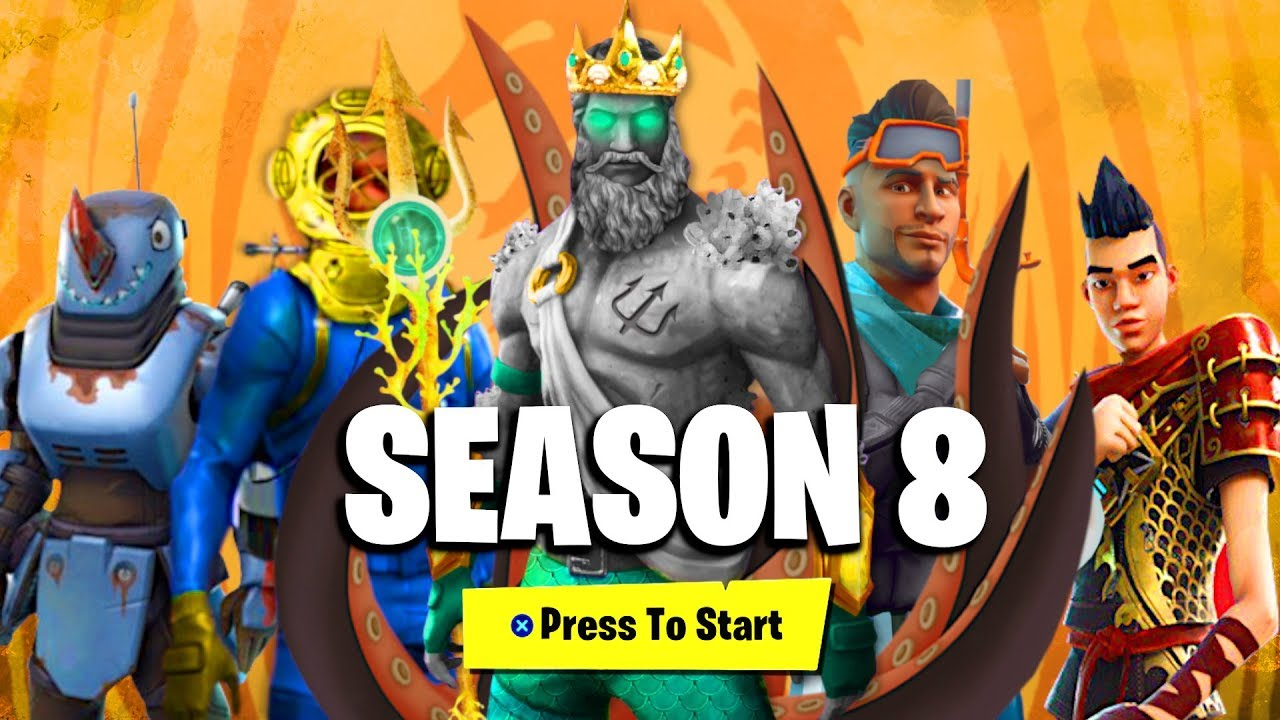 Fortnite Season 8 Battle Pass All Details Rewards Unlocks New Season 8 Battle Pass Leaked