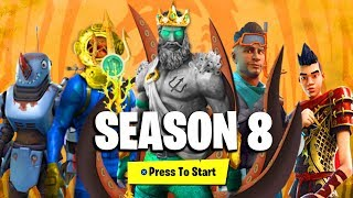 FORTNITE SEASON 8 BATTLE PASS - ALL DETAILS, REWARDS & UNLOCKS! - (NEW SEASON 8 BATTLE PASS LEAKED)!