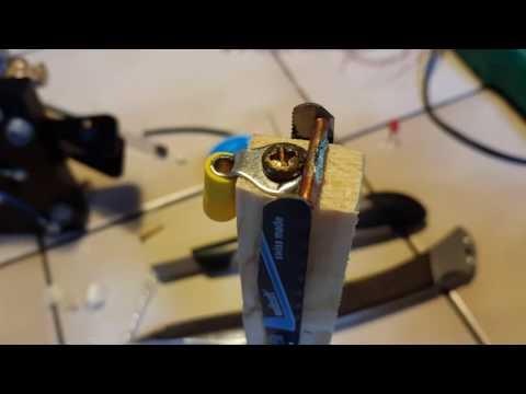 Homebrew Morse Key, Paddles  - YouTube