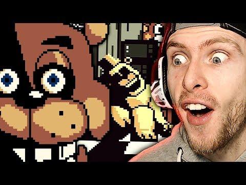 FNAF FOR SUPER NINTENDO!? | Five Nights at Freddy's Pocket Horror Night 1 Gameplay! thumbnail