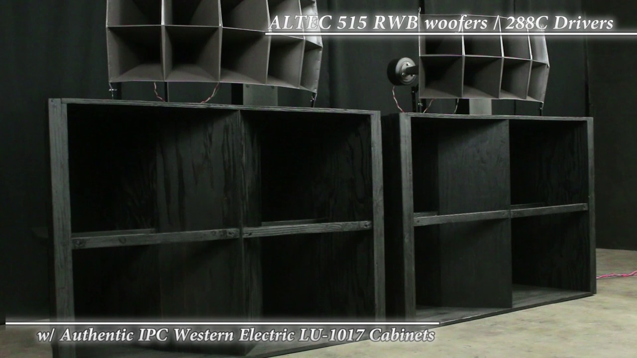 Bon ALTEC 515/288C W/ IPC Western Electric Cabinets 3