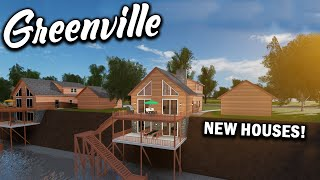 HUGE UPDATE!!! (NEW HOUSES) PT 1 || ROBLOX - Greenville
