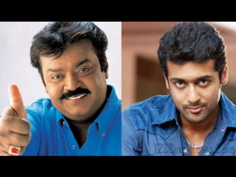 Surya About Vijayakanth123 Cine newsTamil Cinema News