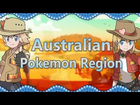 What If Australia Was A Pokemon Region?