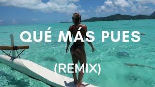 Sech - Que Mas Pues Ft. Maluma, Nicky Jam(REMIX)Farruko  Letra
