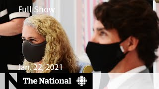 CBC News: The National | Trudeau says he's looking into GG vetting process | Jan. 22, 2021
