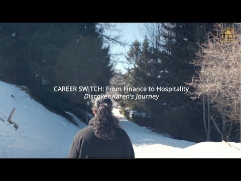 From Finance to Hospitality: Discover Karen's Journey at Swiss Hotel Management School