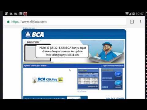 Cara transfer saldo ke bca virtual account via klikbca youtube cara transfer saldo ke bca virtual account via klikbca stopboris Choice Image