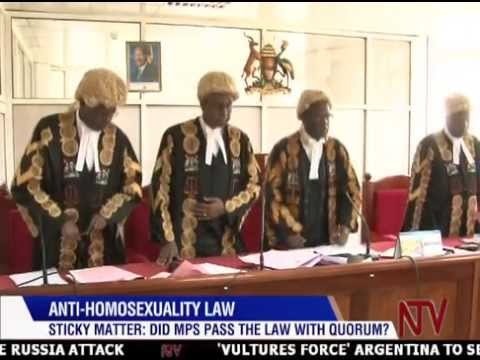 ANTI-HOMOSEXUALITY LAW PETITION: State concludes submission