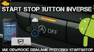 Start Stop button inverse OBDeleven - jak odwrócić działanie przycisku Start Stop