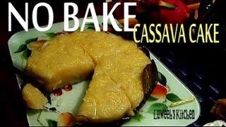 "Steamed  ""CASSAVA CAKE"""
