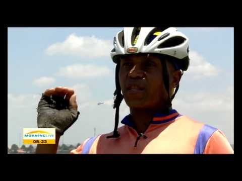 Soweto cyclists faced by challenges