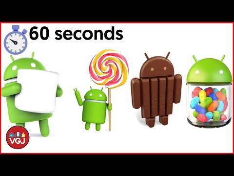 A History of Android in 60 seconds