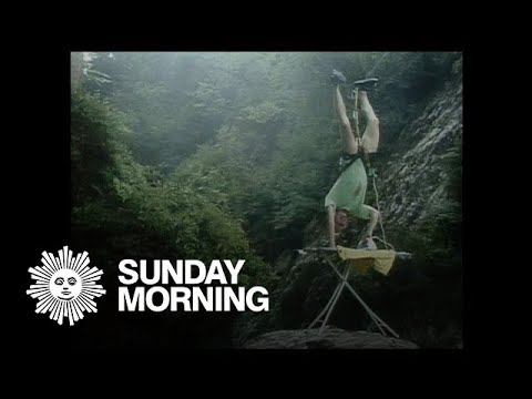 From 2003: Extreme ironing