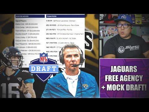 Full Jacksonville Jaguars Offseason: Free Agency + 7-Round Mock Draft! #DUUUVAL
