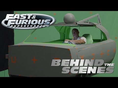 Behind the Scenes: Fast & Furious - Supercharged