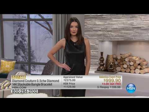 HSN | Diamond Couture Jewelry 02.03.2017 - 01 AM