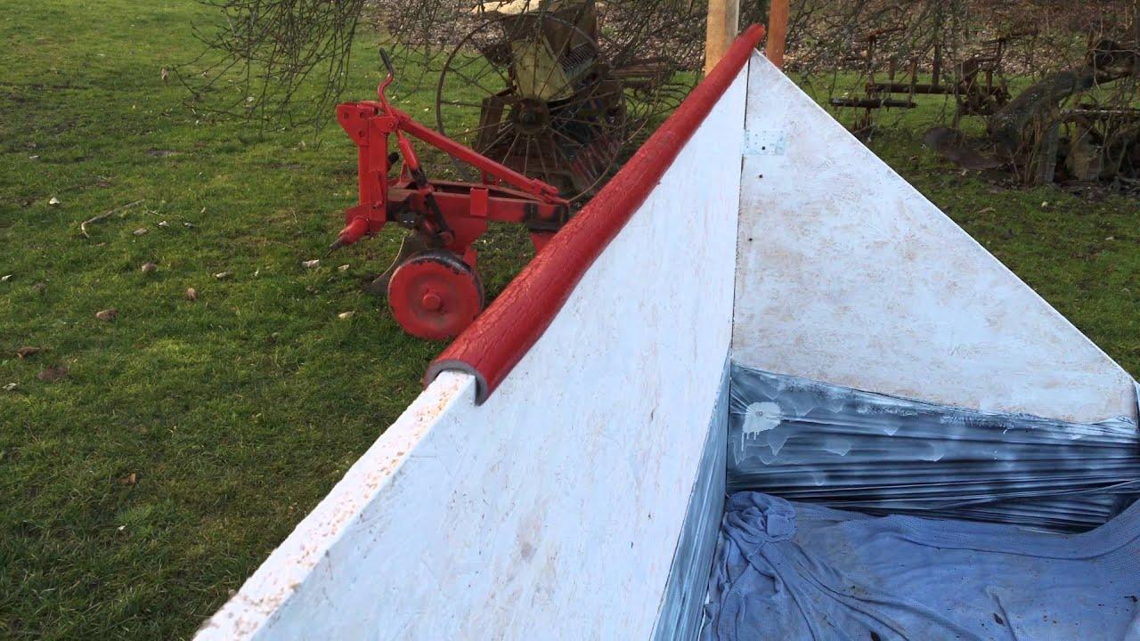 building very small backyard hockey rink poland youtube