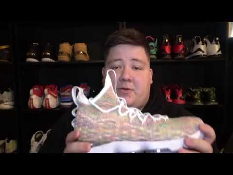 983246f1ced48a FRUITY PEBBLES! NIKE LEBRON 15 CEREAL REVIEW! 4K! - YouTube