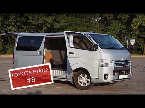#8 Неубиваемый труженик Toyota HIACE  Как я его покупал в Японии