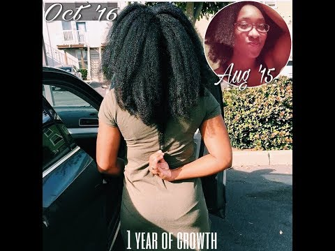 Waist Length In A Year | How To Grow Long Natural Hair