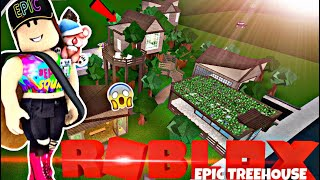 EPIC TREE HOUSE | NEW MASCOT? :O | Speed Build