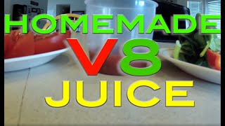 Homemade V8 Juice