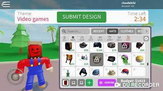 Come race to be a model design it ROBLOX Indonesia