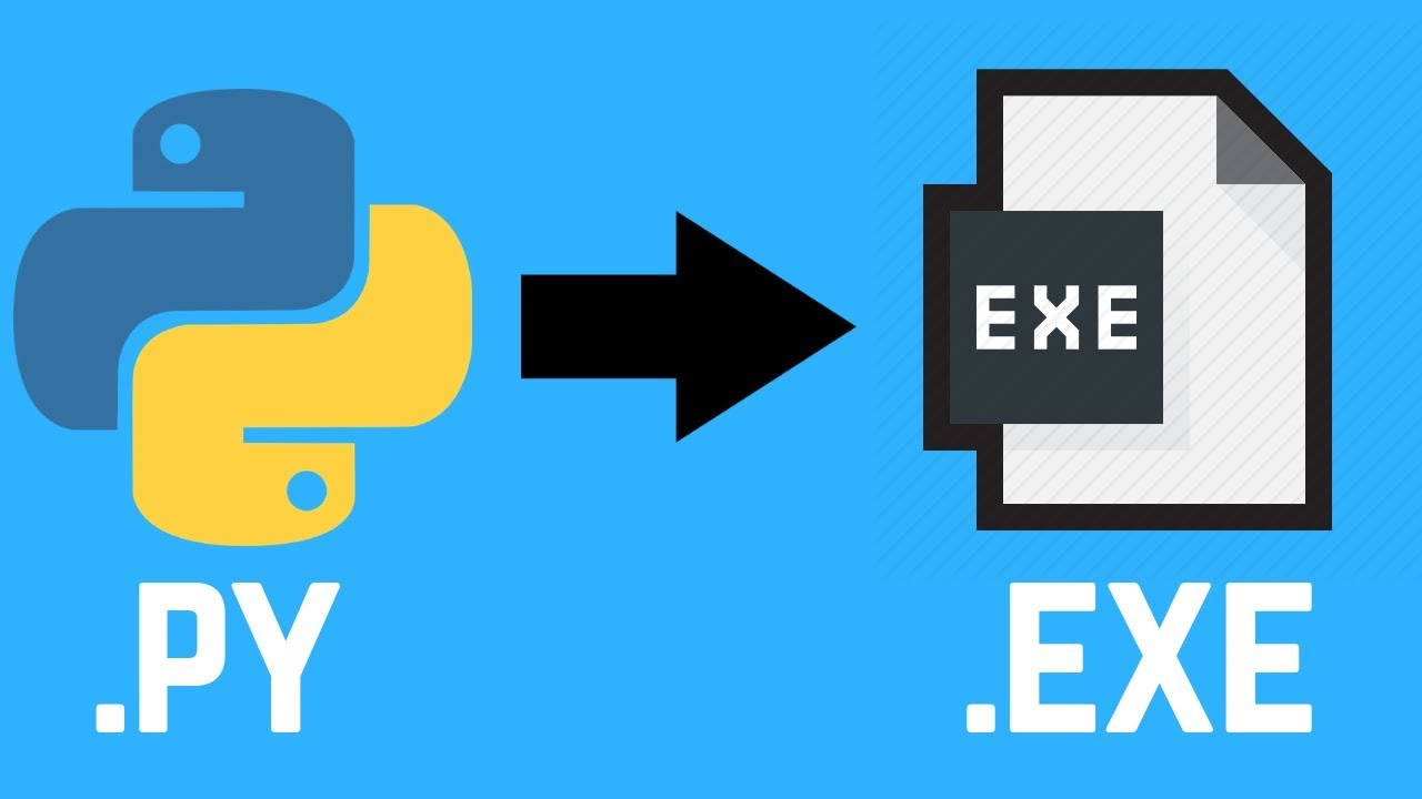 How to convert any python (.py) file into windows executable (.exe) file - Simple - YouTube