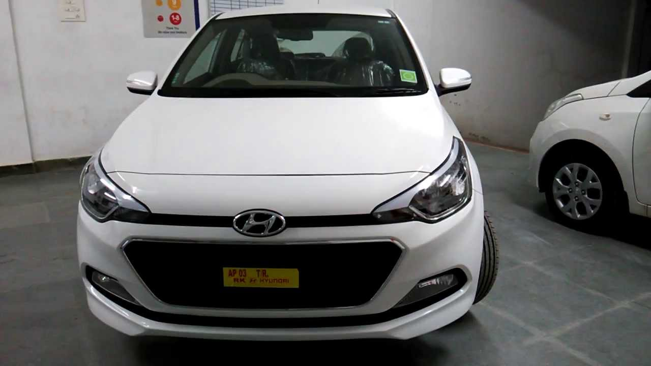 Hyundai elite i20 asta top end colours test drive for I20 asta o interior