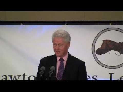 Bill Clinton's Speech to the Lawton Chiles Leadership Corps Part I