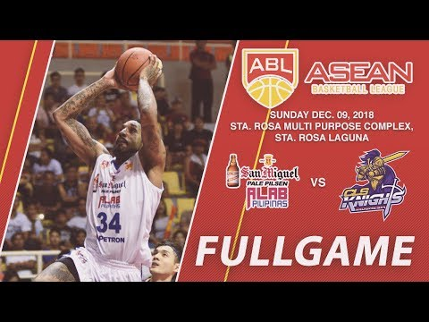 San Miguel Alab Pilipinas v CLS Knights Indonesia | FULL GAME | 2018-2019 ASEAN Basketball League