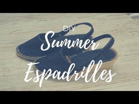 DIY: Summer Espadrilles (EASY)