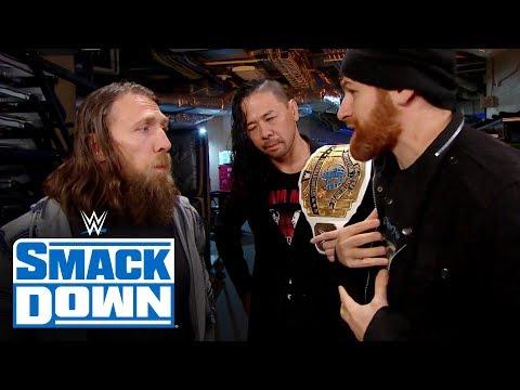 Daniel Bryan turns down Sami Zayn's offer: SmackDown, Nov. 15, 2019