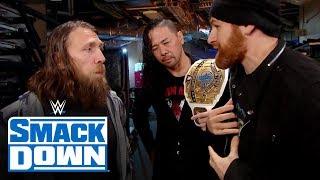 Video Daniel Bryan turns down Sami Zayn's offer: SmackDown, Nov. 15, 2019 download MP3, 3GP, MP4, WEBM, AVI, FLV November 2019