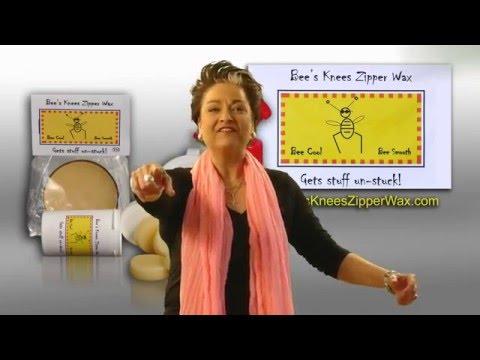 Bees Knees Zipper Wax