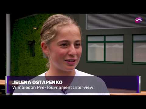 Jelena Ostapenko | 2017 Wimbledon Pre-Tournament Interview