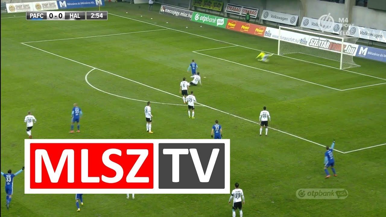 Szakály Péter gólja a Puskás Akadémia FC - Swietelsky Haladás mérkőzésen
