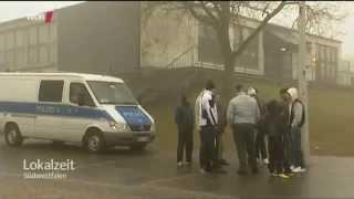 Massenschlägerei in Flüchtlingsheim. Burbach in Westfalen. Asylbetrug!