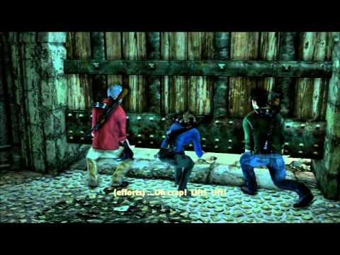 Completed Uncharted 3 Syria Co-op Crushing 3 players gameplay