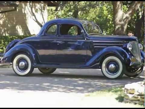 1936 ford v8 five window coupe youtube for 1936 ford five window coupe