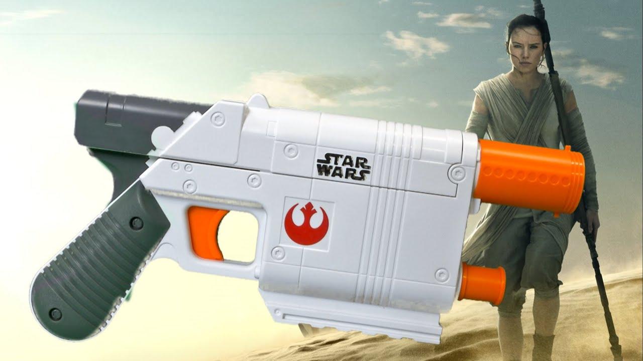 Nerf Star Wars The Force Awakens Rey Jakku Blaster from Hasbro