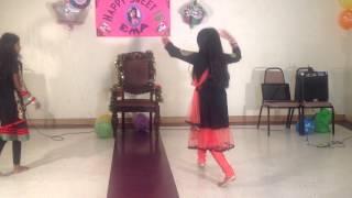Nagada Song Dhol & Bole Chudiyan Remix Danced By Adwitia Barua & Prema Barua at Ema Barua's Sweet 16