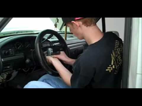 hqdefault removing ford steering wheel youtube 2001 F150 Radio Wiring Diagram at virtualis.co