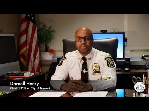 Meet Darnell Henry, Chief of Newark Police Department