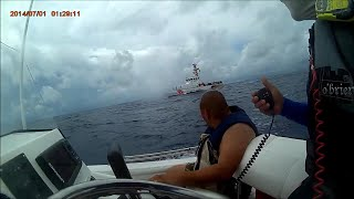 Miami to Bimini Bahamas Coast Guard Interception Gulfstream Crossing