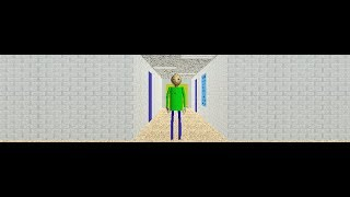 Oh come on, not this dude again!!!!! (Baldi's Basics Mod)
