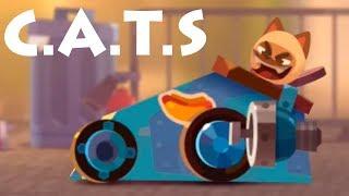 CATS Crash Arena Turbo Stars! Чемпионат \ игра битва котов! игра на андроид